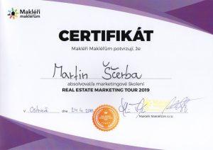 Realitní makléř Martin Ščerba - Nový Jičín - školení Ostrava