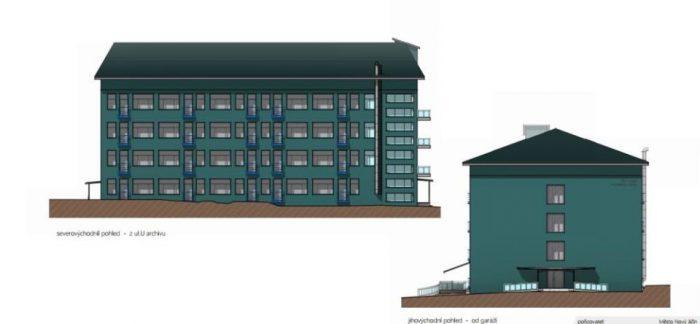 nové domy a nové byty